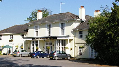 Alton House Hotel styled by Finishing Touches