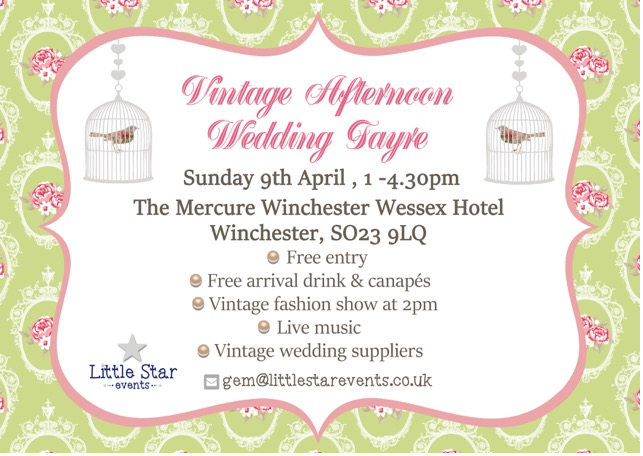 Vintage Afternoon Wedding Fayre – Winchester